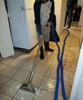water removal by men